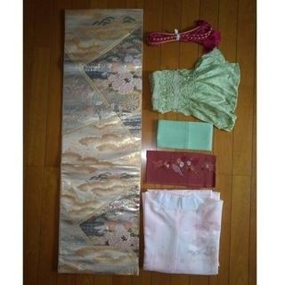振り袖M(お姫様)、長襦袢、袋帯、小物セット - 服/ファッション