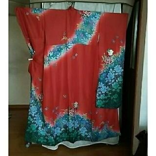 振り袖T、長襦袢、袋帯、小物セット − 京都府