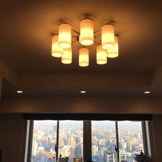 シャンデリア LED 8灯 KOIZUMI製