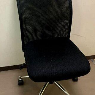 オフィスチェアー 会議チェアー ブラック 470×620×厚さ9...