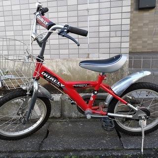 自転車 子供用  16インチ DUALLY
