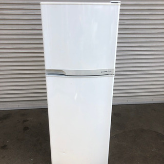 ★2008年製★ SHARP 2枚ドア冷蔵冷凍庫 225L