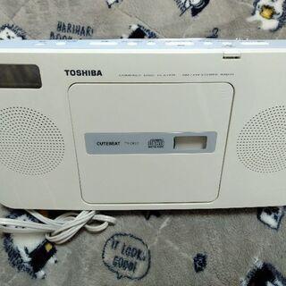 TOSHIBA東芝のCDラジカセ