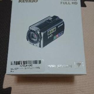 *ほぼ新品、小型ビデオカメラの画像