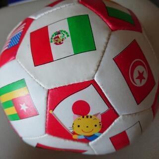 国旗柄の柔らかいボール  14センチ