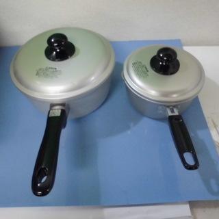 JM5691)片手鍋/大小2セット【取りに来られる方限定】