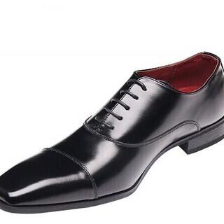【新品・未使用】ビジネスシューズ 本革 革靴 メンズ 紳士靴 (...