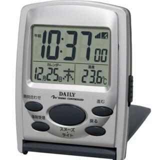 未使用未開封  電波時計 電池お付け致します