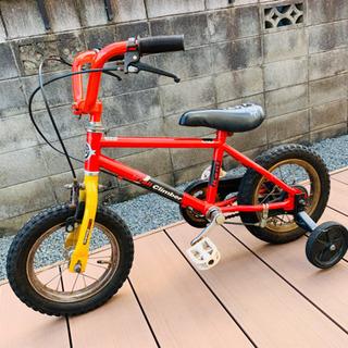 お取引中⭐︎赤い自転車 12インチ コマあり