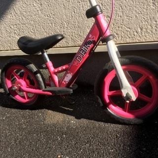 Dバイク   ピンク女の子用♪
