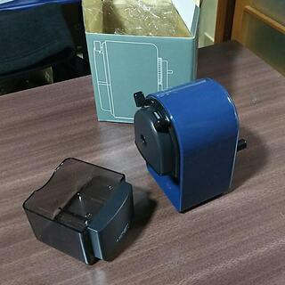 三菱シャープナー 鉛筆削り(青)