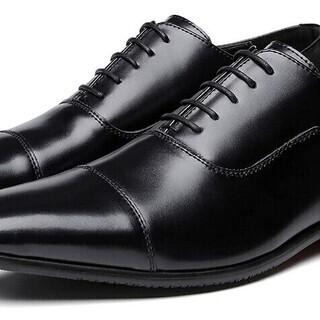 【新品・未使用】ビジネスシューズ 26,5㎝ 紳士靴 メンズシュ...