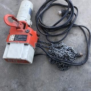 KITO キトー60kg 電気チェーンブロック 100v