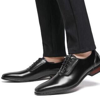 【新品・未使用】ビジネスシューズ 26,5cm メンズ 紳士靴 ...
