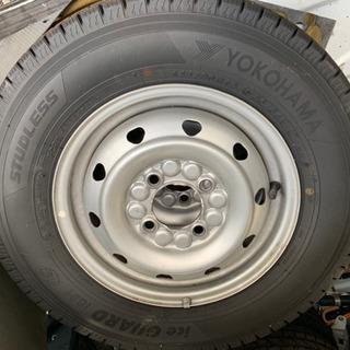 ◆バリ溝◆2018年製ヨコハマ アイスガード スタッドレスタイヤ...