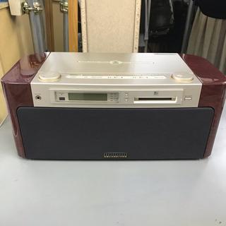 SONY ソニー♪MD・CD  ラジオが聴けるステレオ