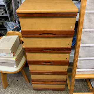 6段チェスト 衣類収納 コンパクト収納家具