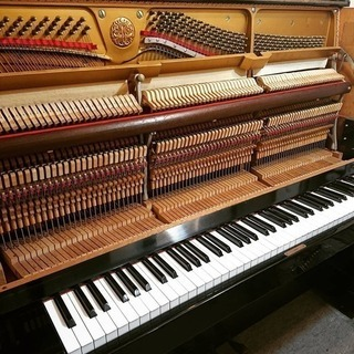 EASTEIN イースタイン 1980年製 U型 杵淵ピアノ 希少アップライトピアノ - 名古屋市