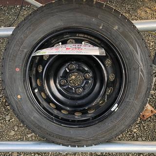 タイヤ付き鉄ホイール DUNLOP WINTER MAXX 16...