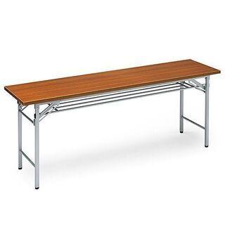美品!!色違い二台セット サンワサプライ 折りたたみ会議用テーブ...