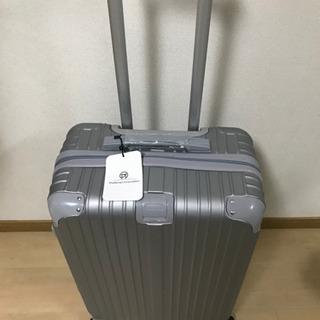 【新品未使用】軽量 スーツケース ファスナー式 8輪キャスター...
