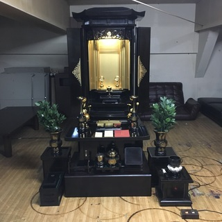 創価学会 電動 自動開閉機能付き 仏壇 開閉動作確認済 東E