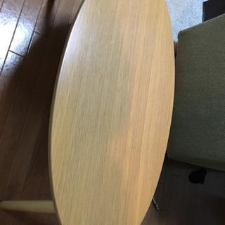 ニトリ 折りたたみローテーブル シェル