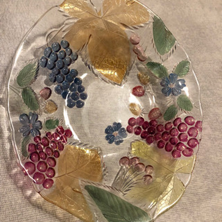 可愛い柄の大皿