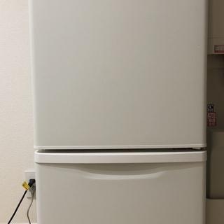 パナソニック冷蔵庫 NR-B14BW ※マットバニラホワイト