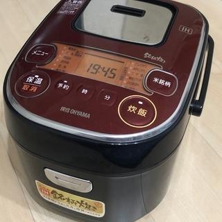 アイリスオーヤマ IHジャー炊飯器(3合炊き) KRC-IE30...