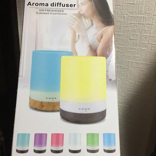 加湿器 リモコン 付き ライト アロマディフューザー