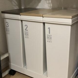スリムダストボックスゴミ箱(20リットル×3個セット)