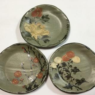 九谷塑(九谷焼)5枚和皿