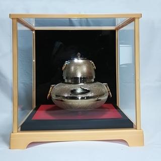□◇ お正月を迎える前に飾って置きたい素敵な金の茶釜 ◇□