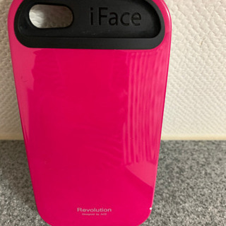 Hamee ハミー正規店 iFace iPhone5s ホットピンク