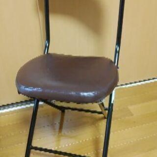ニトリ 折り畳椅子 2脚セット