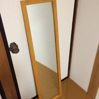 木製フレーム 姿見、全身鏡