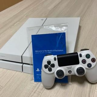 【美品】PS4 グレイシャー・ホワイト 500GB