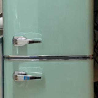 Grand-Line2ドア レトロ冷蔵庫 133L