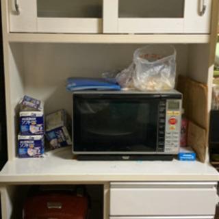 キッチンボード レンジ台 食器棚 幅90