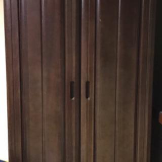 木製クローゼット
