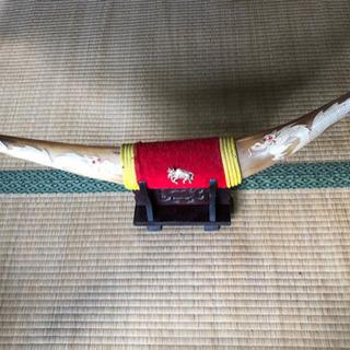水牛の角 龍の彫刻 バッファローホーン ドラゴン アンティーク ...