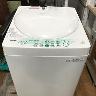 東芝 全自動洗濯機 4.2K 2011年製 中古