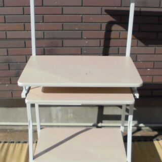 パソコンデスク スライドテーブル・キャスター付き JM5704)...
