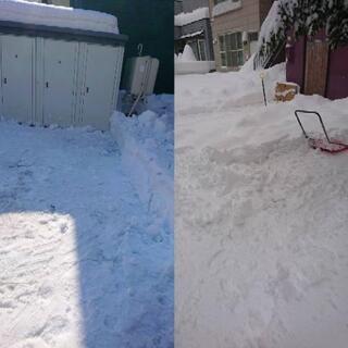 除雪作業、雪かき