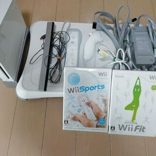 Wiiフィットセット。すぐ使えます