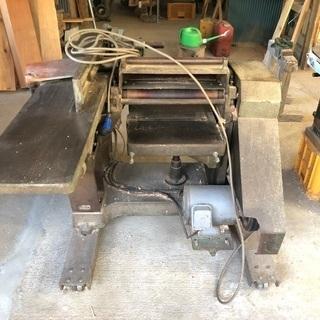 木工機械 万能機 200v