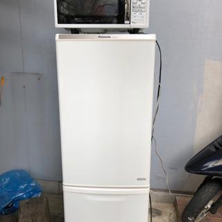冷蔵庫、電子レンジセット