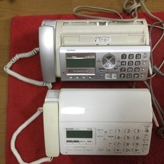 FAX電話 2台 ジャンク