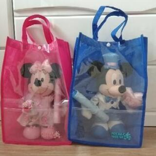 ミッキーマウス&ミニーマウス 祝電